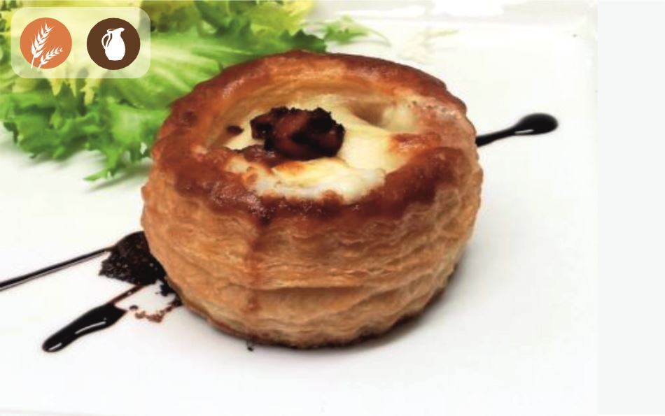 Vol-au-Vent de beicon